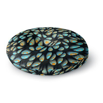 Danny Ivan Blobbly Pattern Round Floor Pillow Size: 23 x 23