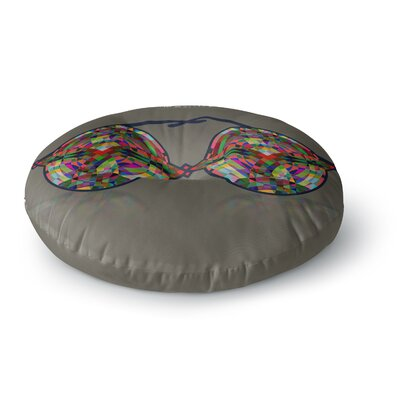 Deepti Munshaw iMagine Round Floor Pillow Size: 26 x 26