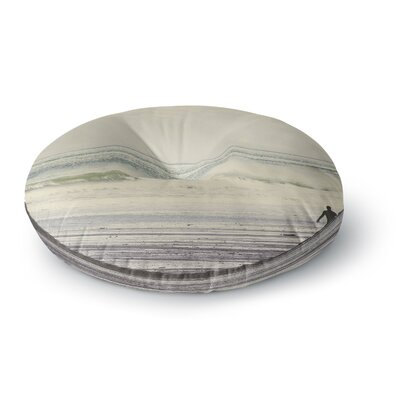 Debbra Obertanec Sun and Surf Round Floor Pillow Size: 23 x 23