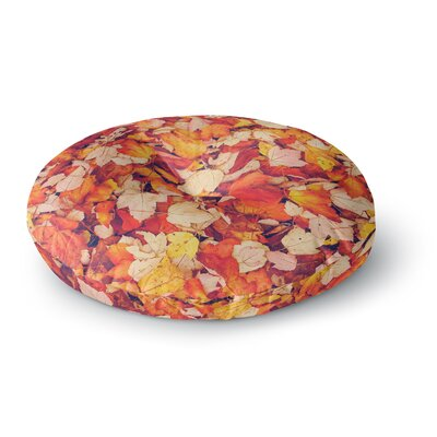 Debbra Obertanec Scarlet Crimson Round Floor Pillow Size: 26 x 26