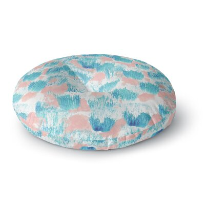 Danii Pollehn Mermaid Skin Painting Round Floor Pillow Size: 26 x 26