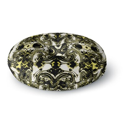 Dawid Roc The Palace Walls II Round Floor Pillow Size: 23 x 23