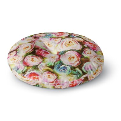 Dawid Roc Rose Romantic Gifts Photography Round Floor Pillow Size: 23 x 23