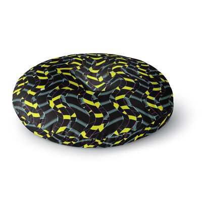 Dawid Roc Waves in Ropes Abstract 1 Round Floor Pillow Size: 23 x 23