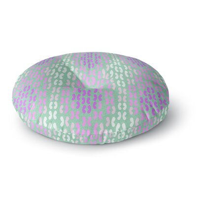 Dan Sekanwagi Butterfly Elements II Round Floor Pillow Size: 26 x 26