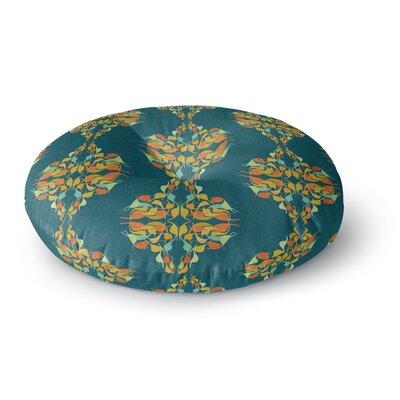 Dan Sekanwagi Feast Round Floor Pillow Size: 26 x 26