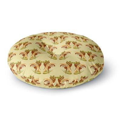 Dan Sekanwagi Curvaceous Pattern Round Floor Pillow Size: 23 x 23