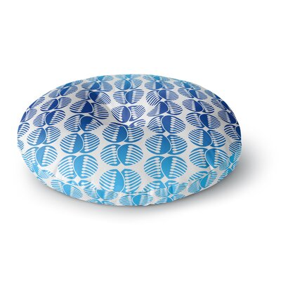 Dan Sekanwagi Poddy Combs Pattern Round Floor Pillow Size: 26 x 26