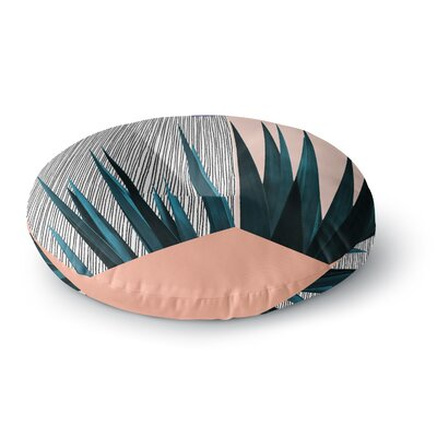 Cafelab Summer Geometry Round Floor Pillow Size: 23 x 23