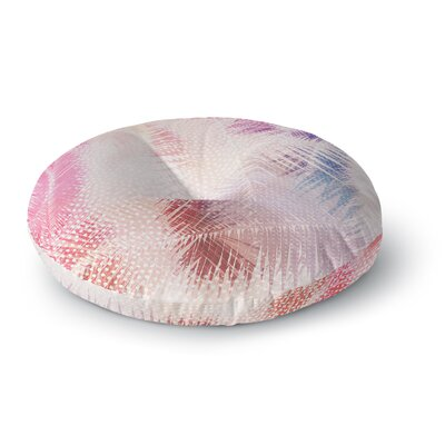 Cafelab Sweet Tropical Abstract Round Floor Pillow Size: 23 x 23