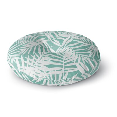Cafelab Water Tropicana Theme Illustration Round Floor Pillow Size: 23 x 23