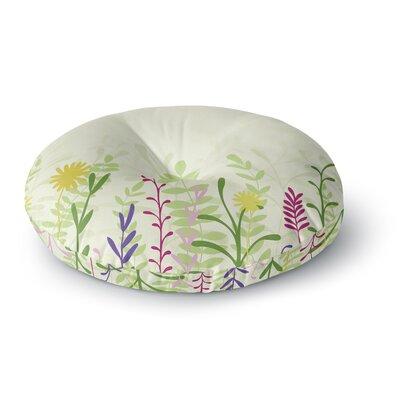Emma Frances Springtime Round Floor Pillow Size: 23 x 23