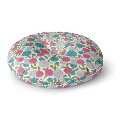Emma Frances Vintage Brights Round Floor Pillow Size: 26 x 26