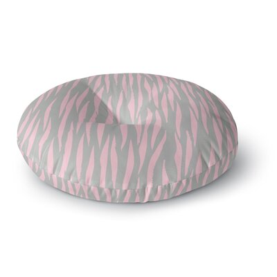 Wildlife Animal Print 12 Painting Round Floor Pillow Size: 26 x 26