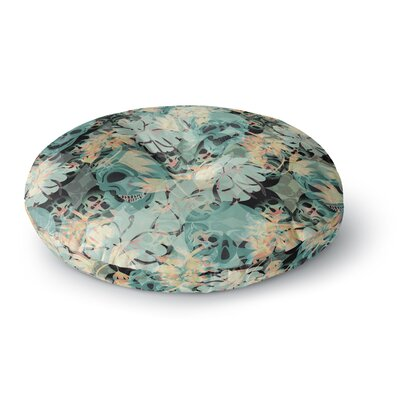 Akwaflorell Deads Head Party Round Floor Pillow Size: 23 x 23
