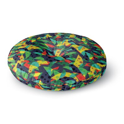 Akwaflorell Fruit and Fun Round Floor Pillow Size: 26 x 26