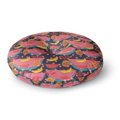Akwaflorell Yummy Round Floor Pillow Size: 26 x 26