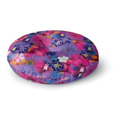 Akwaflorell Find the Tiger Round Floor Pillow Size: 26 x 26