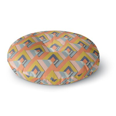 Akwaflorell So Cool Round Floor Pillow Size: 23 x 23