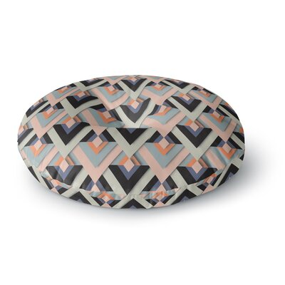 Akwaflorell Sweet & Sharp Round Floor Pillow Size: 26 x 26
