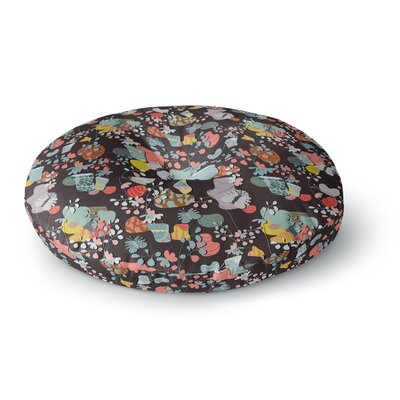 Akwaflorell At Home Round Floor Pillow Size: 23 x 23