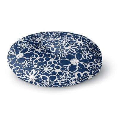Emine Ortega Daisy Lane Round Floor Pillow Size: 26 x 26