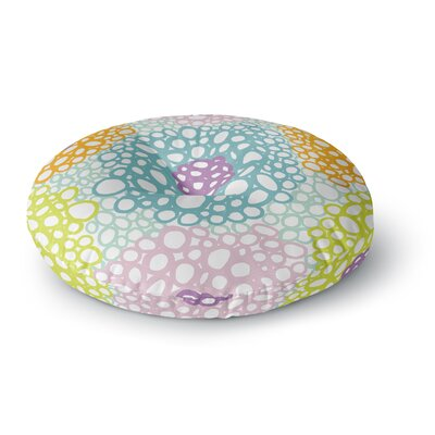 Emine Ortega Bubbly Round Floor Pillow Size: 23 x 23