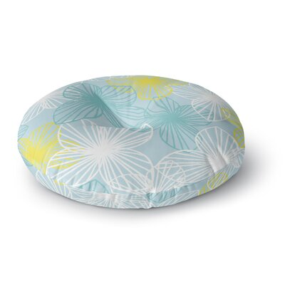 Emine Ortega Sunshine Round Floor Pillow Size: 26 x 26