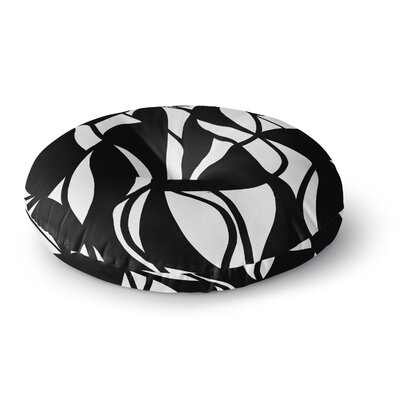 Emine Ortega Sinuous Round Floor Pillow Size: 26 x 26