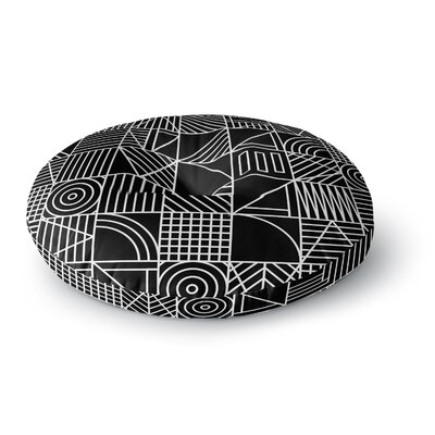 Fimbis Whack Round Floor Pillow Size: 23 x 23