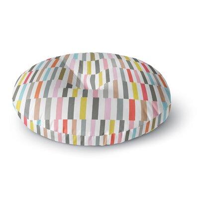Fimbis Rocolu Round Floor Pillow Size: 26 x 26