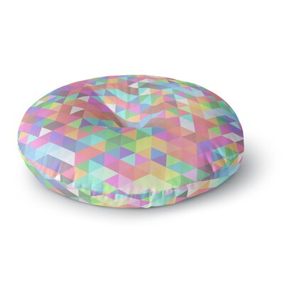 Fimbis Marques Round Floor Pillow Size: 26 x 26