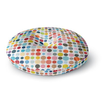 Fimbis Gled Up in Color Round Floor Pillow Size: 26 x 26