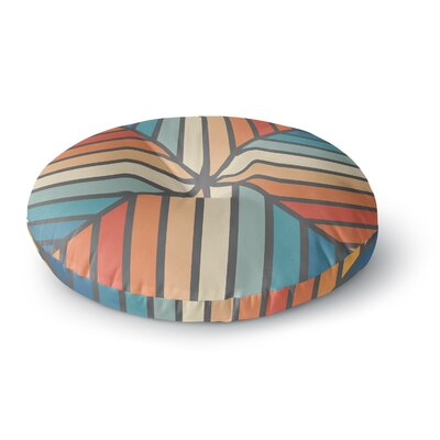Fimbis Celebration Vector Round Floor Pillow Size: 26 x 26