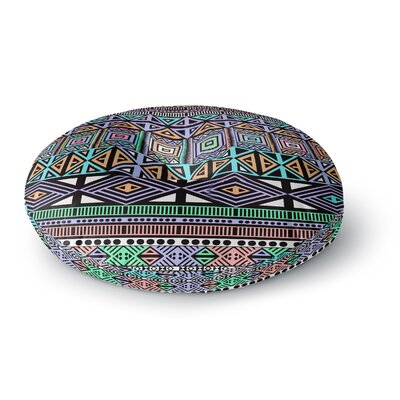 Fimbis Aztec Too Digital Round Floor Pillow Size: 23 x 23