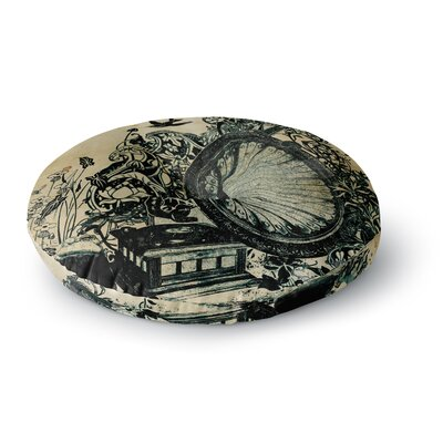 Frederic Levy-Hadida Sound Round Floor Pillow Size: 26 x 26