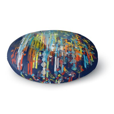 Frederic Levy-Hadida Color Fall Round Floor Pillow Size: 26 x 26