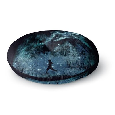 Frederic Levy-Hadida The Hidden Friend Round Floor Pillow Size: 26 x 26