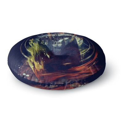 Frederic Levy-Hadida Its Lightful Inside Digital Fantasy Round Floor Pillow Size: 23 x 23