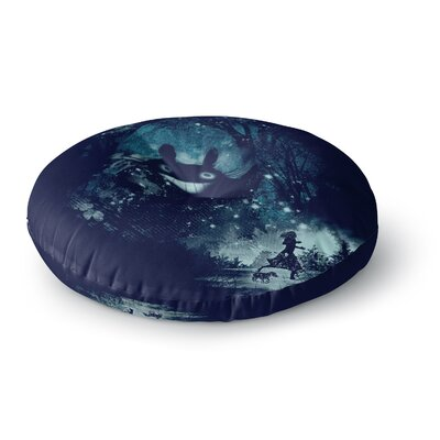 Frederic Levy-Hadida the Big Friend Fantasy Round Floor Pillow Size: 26 x 26