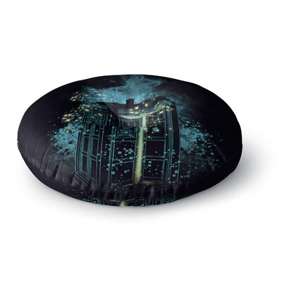 Frederic Levy-Hadida Regeneration is Coming Round Floor Pillow Size: 23 x 23