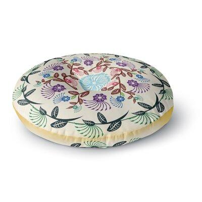 Famenxt Mandala Round Floor Pillow Size: 23 x 23