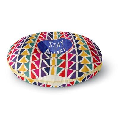 Famenxt Stay Awake Round Floor Pillow Size: 26 x 26