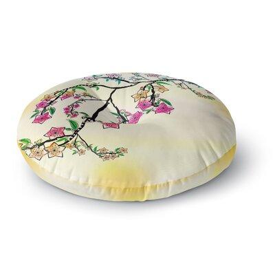 Famenxt Owl Round Floor Pillow Size: 23 x 23