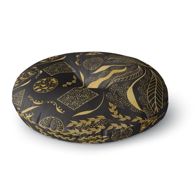 Famenxt Ornaments Round Floor Pillow Size: 23 x 23