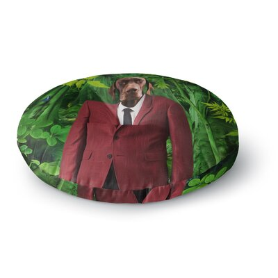 Natt Into the Leaves N2 Dog Round Floor Pillow Size: 26 x 26
