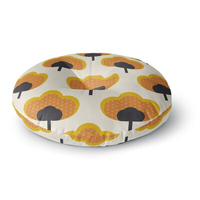 Natt Flowers Floral Round Floor Pillow Size: 26 x 26