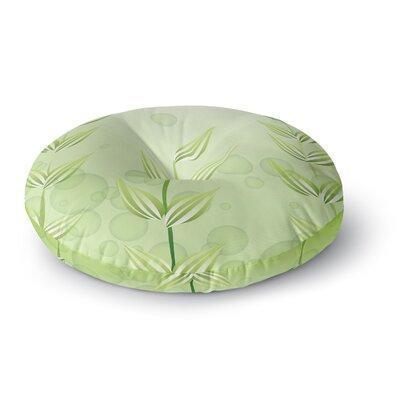 Fotios Pavlopoulos Floral Loop Round Floor Pillow Size: 23 x 23