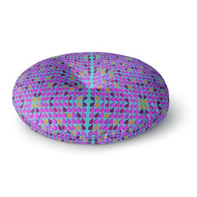 Fernanda Sternieri Optical Paisley Round Floor Pillow Size: 26 x 26