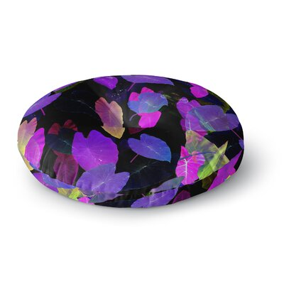 Fernanda Sternieri Fluo Jungle Round Floor Pillow Size: 26 x 26